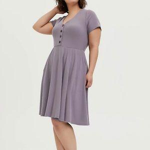 Torrid size 0 skater dress